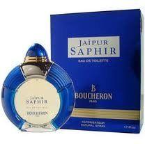 JAIPUR SAPHIR BY BOUCHERON 3.4 OZ EAU DE TOILETTE SPRAY FOR LADIES by BOUCHERON PARIS. $270.00. Jaipur Saphir 3.4 oz spray for ladies. 100 ml