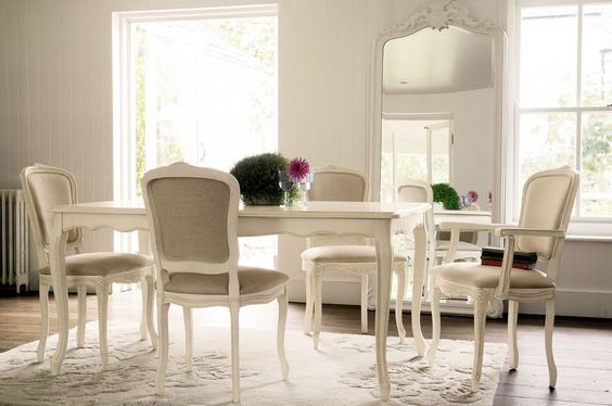 Provencale Extended Dining Table In Ivory From Laura Ashley My