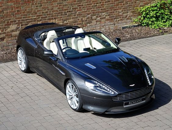 2014 (64) Aston Martin DB9 Volante for sale | Quantum Silver