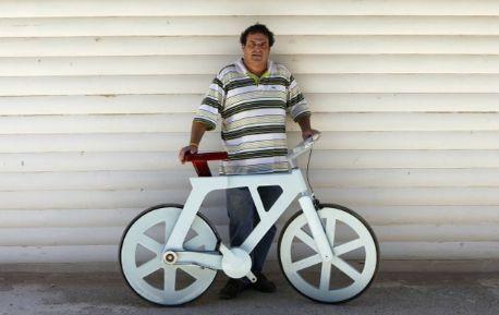 段ボール製自転車キタ━━━━(゜∀゜)━━━━ッ!!お値段1600円