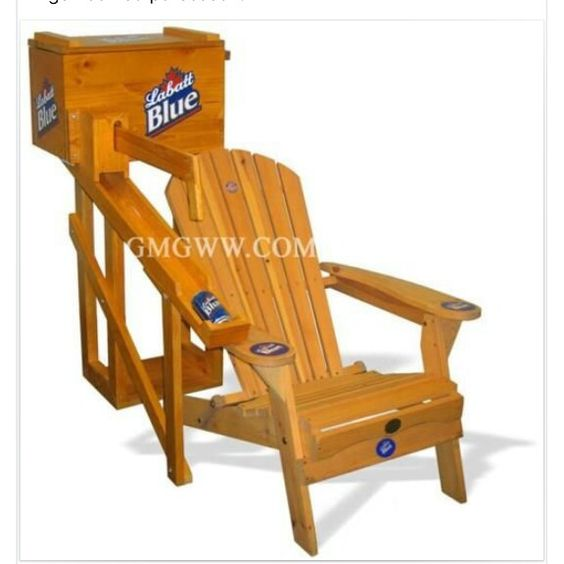 Beer chair throne cottage pinterest beer for Throne chair plans