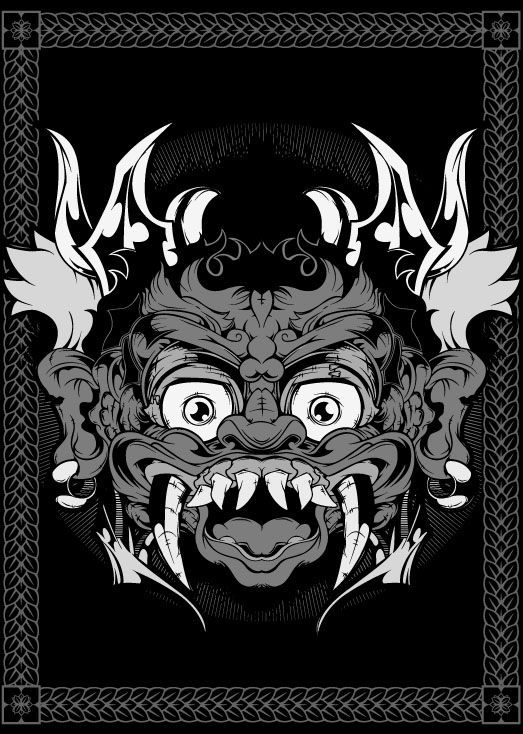 Demon Series by Brian Bron, via Behance