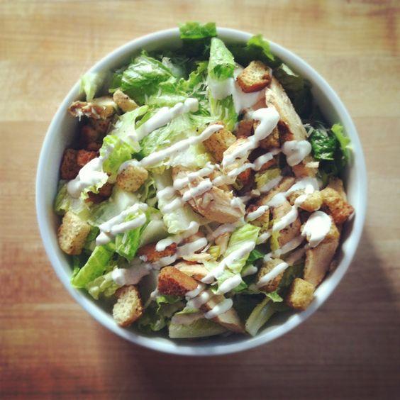 Grilled Chicken Caesar Salad - my favorite!
