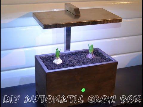 diy automatic grow box all