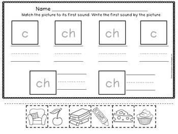 digraph ch sorting pictures that begin with ch picture that sorting and worksheets. Black Bedroom Furniture Sets. Home Design Ideas