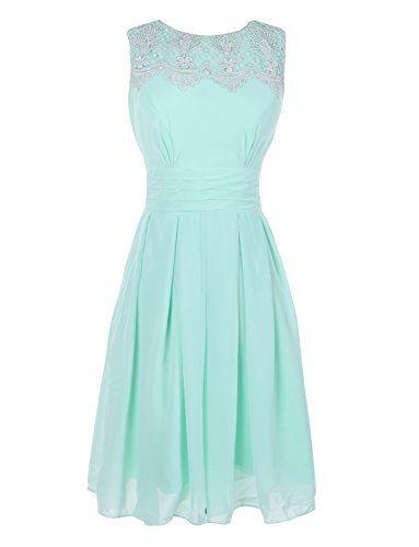 Melantha Short Prom Dress Bridesmaid Gowns with Appliques Neckline on sale #Bridesmaid-Dresses http://www.weddingdealusa.com/melantha-short-prom-dress-bridesmaid-gowns-with-appliques-neckline-on-sale/5142/?utm_source=PN&utm_medium=jillweddings+-+bridesmaid+dresses&utm_campaign=Wedding+Deal+USA