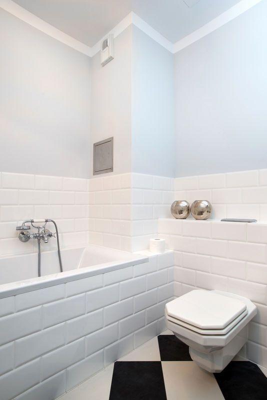 łazienka Ze Stylową Cegiełką Lazienka Pomysły Na