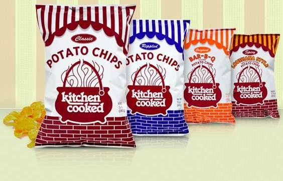 Kitchen Cooked Potato Chips made near Peoria | Peoria | Pinterest