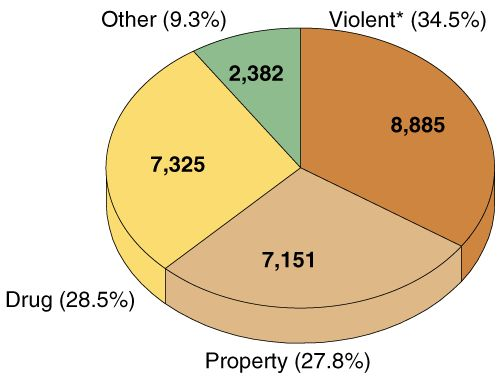 a pie chart of percentage of crime negative deviance Pinterest - electrical pie chart