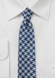 Businesskrawatte abstraktes Dekor marineblau altsilbern günstig kaufen