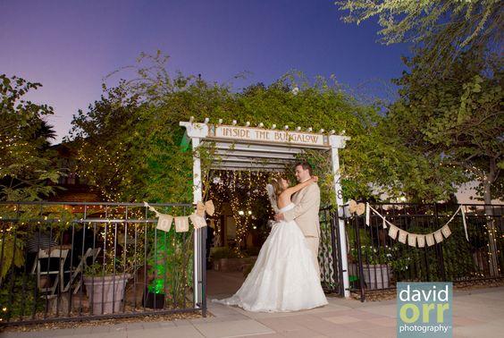 Ashley And Kevins Wedding At Inside The Bungalow Mesa AZ