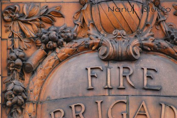 Manchester's London Road Fire Station no.113 by NanuArtStudio on Etsy. New pic and a couple more to join it. Enjoy.