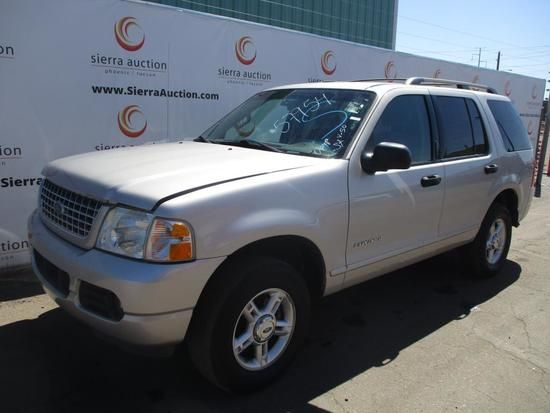 2004 Ford Explorer Auctions Online Proxibid Ford