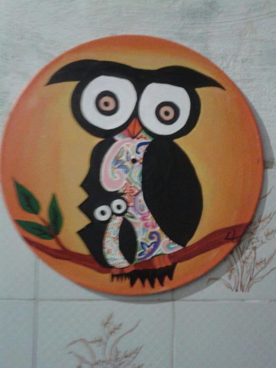 Pintura acrílica no vinil criada e executada por mim