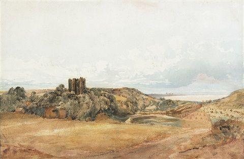 Penrhyn Castle North Wales By Peter De Wint Northwales Penrhyn