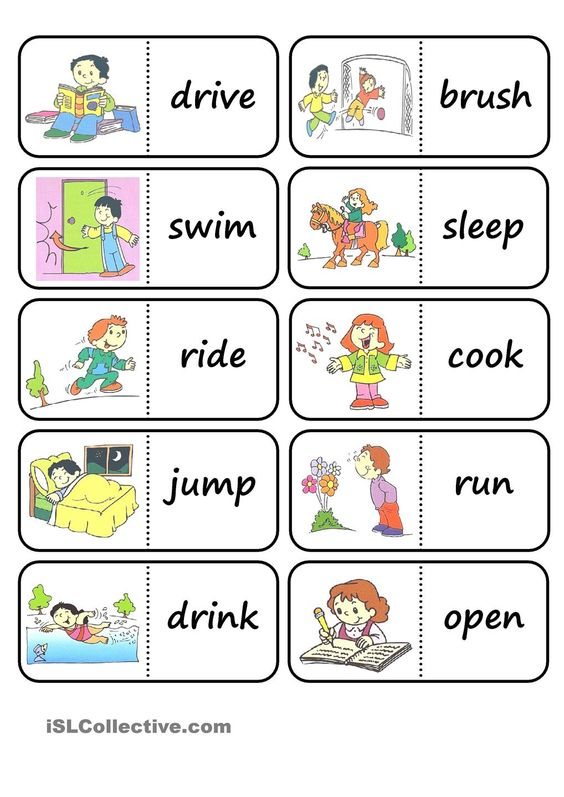 action words domino u2026 Pinteresu2026 - what is an action verb