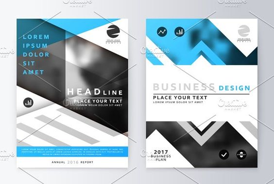 Annual Report By Artico On @Creativemarket | Brochure Design