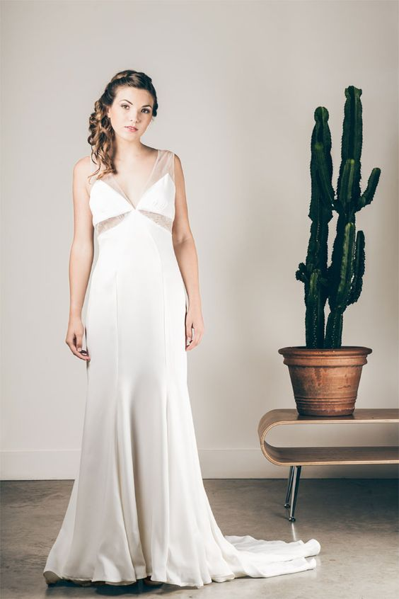 Les robes de mariée de Caroline Quesnel - Collection 2016 | Modèle : Laurène | Crédits: Olivier Ramonteu | Donne-moi ta main - Blog mariage