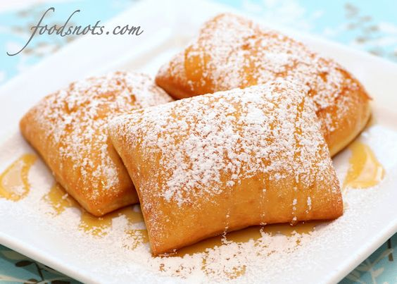 Beignets, my mom made these years ago and i still remember how amazing they are