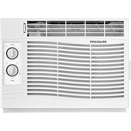 Frigidaire 5 000 Btu 115v Window Mounted Mini Compact Air Conditioner With Mechanical Controls White 5000 With Images Compact Air Conditioner Window Air Conditioner Room Air Conditioner