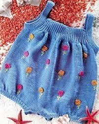 Resultado de imagem para jardineira de croche infantil