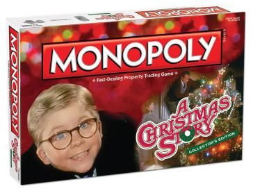 MONOPOLY: A Christmas Story Collector's Edition   Monopoly   USAopoly