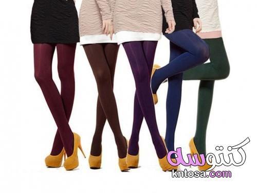 صور جوارب دافئة فوق الركبة ألوان الجوارب النايلون الجوارب النسائية جوارب طويلة روعه
