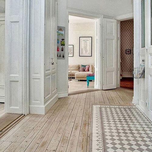 Puerta blanca con estilo vintage decoracion pinterest for Decoracion puertas vintage