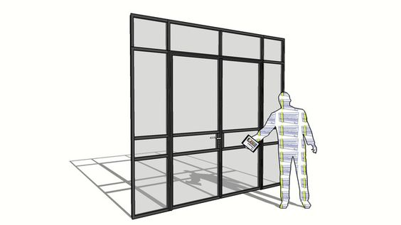 Models double doors and 3d on pinterest for Door 3d warehouse