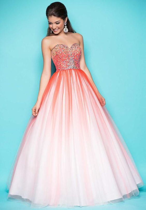 prom dresses - Fun Prom Dresses 2013: Look Awesome in Ombre!Prom ...