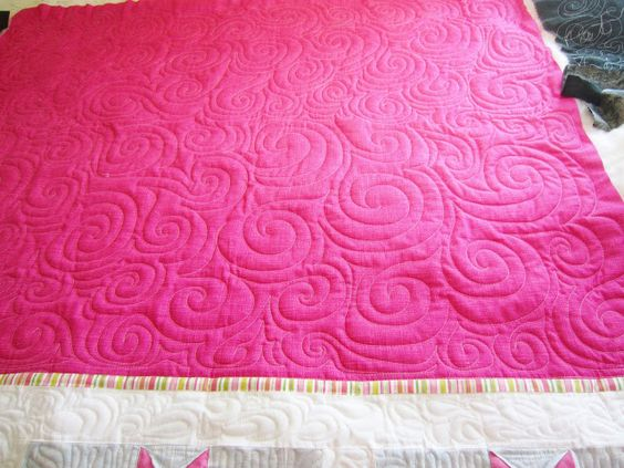 Color Me Quilty: First Time On A Longarm!