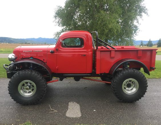 1949 dodge power wagon power wagon pinterest self for Camion americain interieur