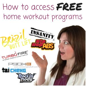How to get FREE home workouts! T25, Insanity, P90x, TurboFire... All FREE I'll show you how.