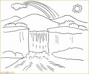 29 Gambar Pemandangan Kartun Indah Karena Pada Zaman Seperti Ini Sulit Untuk Menemukan Daerah Daerah Seperti Gamba Di 2020 Easy Drawing Tutorial Sketsa Buku Mewarnai