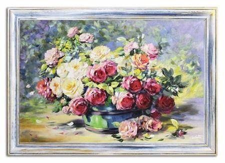 Roze Cale Narecze Roz 76x106 Cm G95181 Obrazy Olejne Kwiaty Roze Twoja Sztuka Pl Art Painting