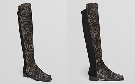 Stuart Weitzman Over The Knee Boots - 5050 Wildcat Leopard 2...BozBuys Budget Buyers Best Brands! ejewelry & accessories...online shopping http://www.BozBuys.com