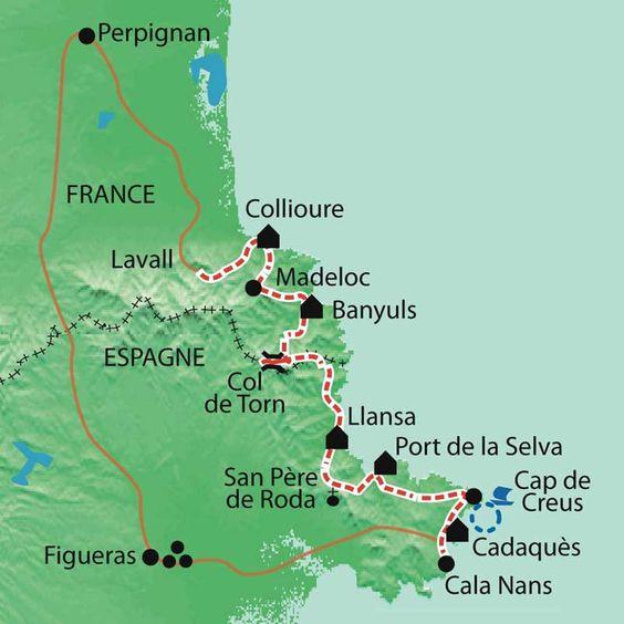 Randonnée Collioure Cadaques - La Balaguère