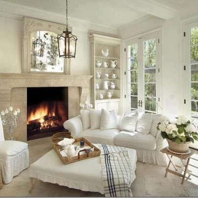 charming french country modern living room | French Country Charm | Salotto | Pinterest | Cottage chic ...