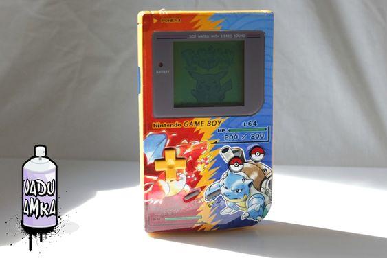 Pokemon modded Gameboy
