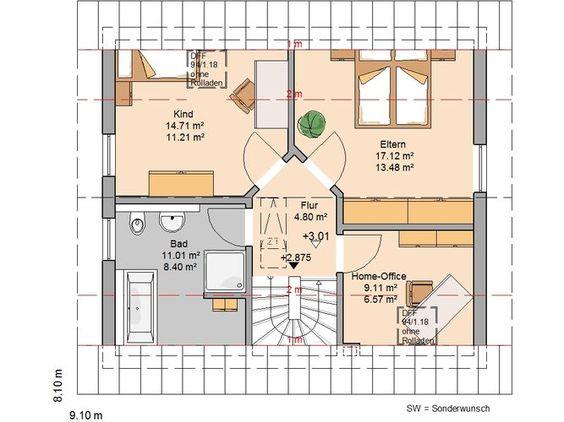 Familienhaus Loop Classic von Kern-Haus | Schickes Design