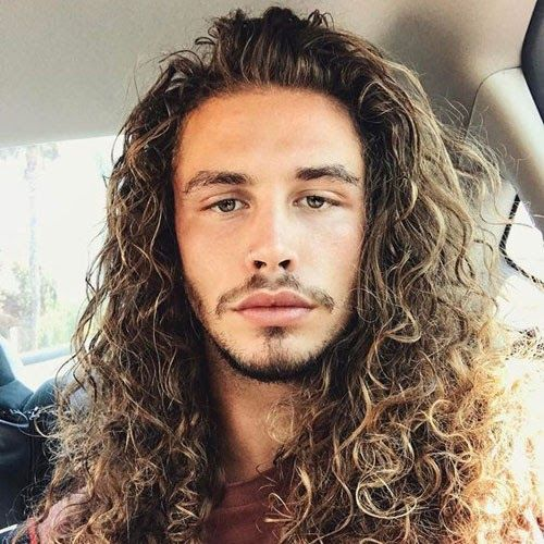 Hairstyles Mens Curly Long Hair Astonishing 50 Best Curly 80 Cool Enough Side Swept Hairstyle For Men Long Hair Styles Men Cool Hairstyles Curly Hair Styles