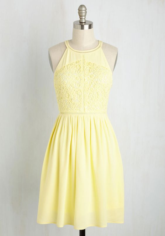 pastel yellow casual sundresses and yellow dress on pinterest