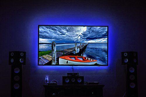 Led Tv Backlight Maylit 2m 6 56ft Rgb Neon Accent Led Lights