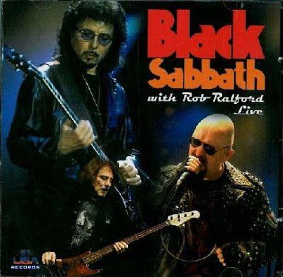 Black Sabbath - O dia em que Rob Halford assumiu o microfone da banda! Confiram!
