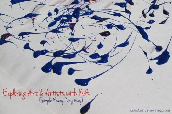 Exploring Art and Artists With Kids
