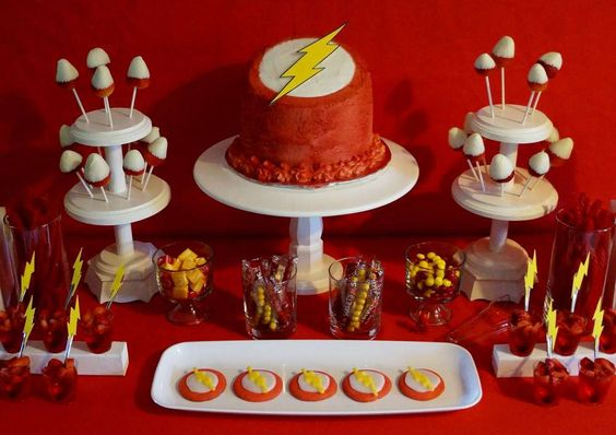 "Rileys ""The Flash"" Birthday Party 