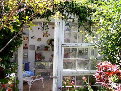 Recycled Window Retreat