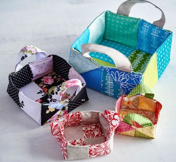 My 4 Favorite Fabric Basket Patterns & Tutorials!