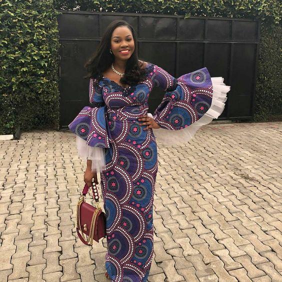 2019 Classy Ankara Long Gown Styles