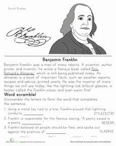 a biography and life work of benjamin franklin an american inventor Benjamin franklin born:  a printer, writer, scientist, inventor  he was the oldest figure of the american revolution franklin also was the only person.